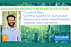 Package: 5 Product Ideas + Potential Suppliers + Video + RFQ Template