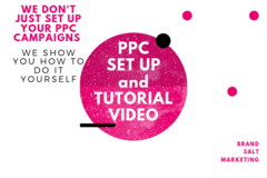 Package: PPC Set Up and Tutorial Video for Ongoing Management