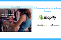 Package: Shopify & BigCommerce Landing Page Design