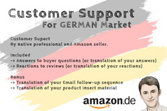 Package: Customer Support for Product on Amazon Germany