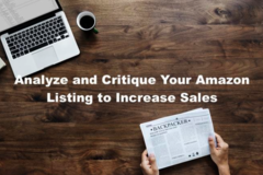 Package: Analyse and Audit Your Amazon Listing to Increase Sales