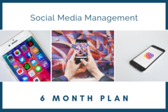 Package: Social Media Management - 6 Months