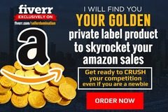Package: 2 days Express Amazon Product Research For Fba Private Label