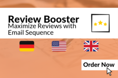 Package: Amazon Review Boost with German Amazon Mail Sequence