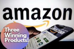 Package: Product Research 3 AMAZON FBA WINNING PRODUCTS
