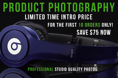 Package: CUSTOM JOB For HUMAID: 75% OFF Product Photography