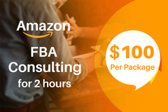 Package: Amazon FBA Consulting for 2 hours - $100 per package