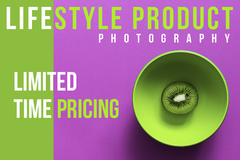 Package: Limited Time Only Lifestyle Product Photography For Vihaan