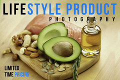 Package: Lifestyle Product Photography Package 50% OFF For Michael