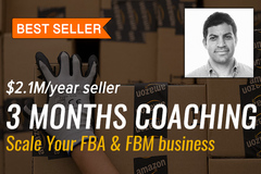 Package: 3 Months Coaching (every 2 weeks) with $2.1M/yr seller
