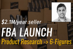 Package: FBA Launch - Product Research To Six-Figures (w/ $2.1M/yr)
