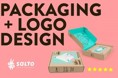 Package: PACKAGING + LOGO design + Product Content Creation