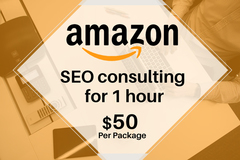 Package: Amazon SEO consulting for 1 hour - $50 per package