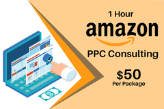 Package: 1 hour Amazon PPC consulting - $50 per package
