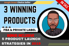 Package: 3 Winning Products Research- UNSHARED PRODUCTS