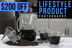Package: Custom Product Photography + Lifestyle Package for Jesse