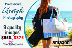 Package: Professional Lifestyle Photography with 1 Model