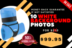 Package: LIMITED OFFER: 10 White Background Photos for just $100!!!