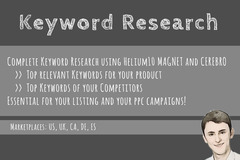 Package: Keyword Research | For Listing Creation and PPC Campaigns