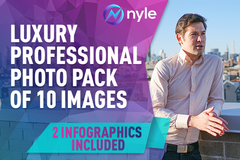 Package: Ultra ProLifestyle Photography With Model + 2 infographics