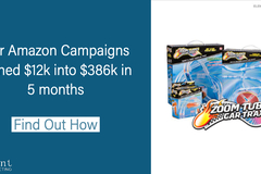 Package: Amazon Sponsored Campaigns - Includes Ad Spend!