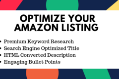 Package: Amazon Product Listing & Optimization