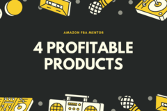 Package: 4 PROFITABLE PRODUCTS RESEARCH + 2 FREE BONUSES (06/24)