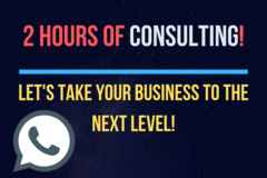 Package: 2 Hours of Consulting Calls - Ask Me Anything!