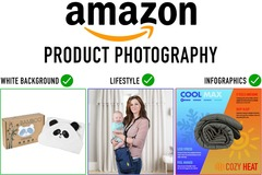 Package: Ten Images: 6 White Background, 4 Lifestyle
