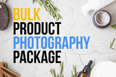 Package: Custom Bulk Product Photography Package for David