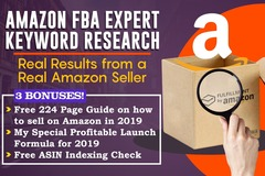 Package: Profitable Amazon Keyword Research for 1 ASIN + Bonuses