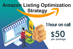 Package: Amazon Listing Optimization Strategy – 1 hour on call