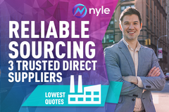 Package: PRODUCT SOURCING – TRUSTED DIRECT SUPPLIERS | BEST PRICING