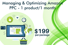 Package: Managing and Optimizing Amazon PPC - 1 product / 1 month