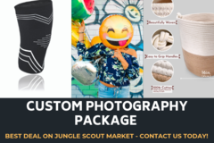Package: 7 Images Pack:  White Background + Lifestyle + Info-graphics