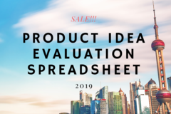 Package: PRODUCT IDEA EVALUATION SPREADSHEET