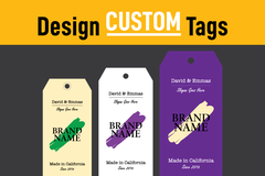 Package: Custom TAG Designs for ANY product