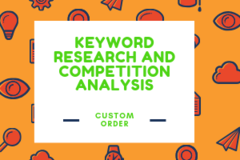 Package: KEYWORD RESEARCH AND COMPETITION ANALYSIS