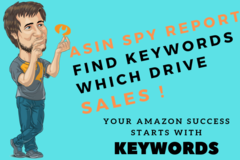 Package: ASIN SPY REPORT - The most powerful TOOL for Amazon Sellers