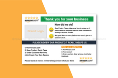 Package: Amazon Product Reviews Card