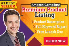 Package: Amazon Premium Optimized Listing w/ PPC, Keywords and Gift