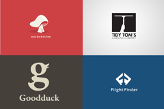 Package: I Will Design A Flat/ Minimal Logo Design with brand guide