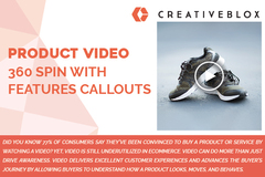 Package: Product Video 360 Spin with Feature Callouts