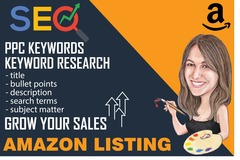 Package: SEO RESEARCH & OPTIMIZED AMAZON LISTING & PPC KEYWORD REPORT