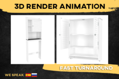 Package: 3D render and animation (NOW 35% OFF!)