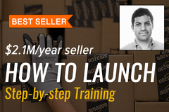 Package: [2019] How to Launch an Amazon Product - Step by Step Videos