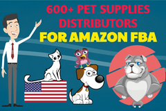 Package: 600+ USA PET SUPPLIES DISTRIBUTORS FOR AMAZON FBA