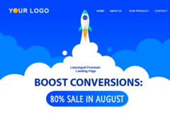 Package: Landing Page->(LIVE PREVIEW) Increase Trust and Conversions!