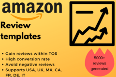 Package: Customer review templates that are within TOS and convert!