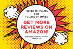 Package: Get More Reviews! Super Effective Follow Up Email Sequence